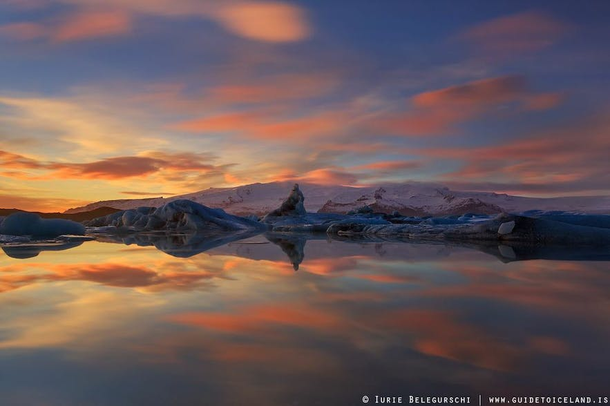 Vatnajökull national park takes it´s name of the largest glacier in Europe