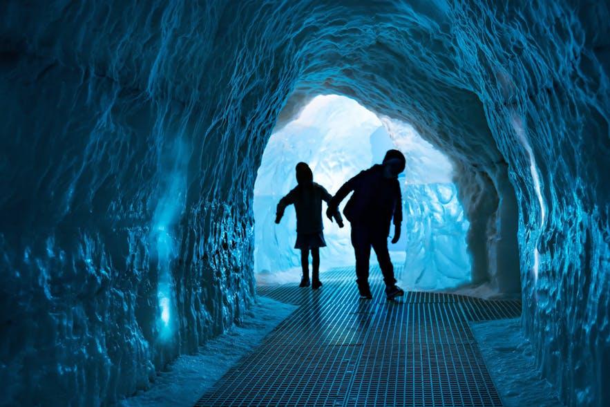 珍珠楼的系列博物馆非常适合带孩子来玩,小朋友们最喜欢的就是博物馆的冰洞