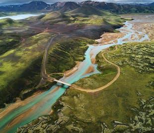 Autotour été de 5 jours | Côte Sud et Hautes Terres avec découverte du Landmannalaugar