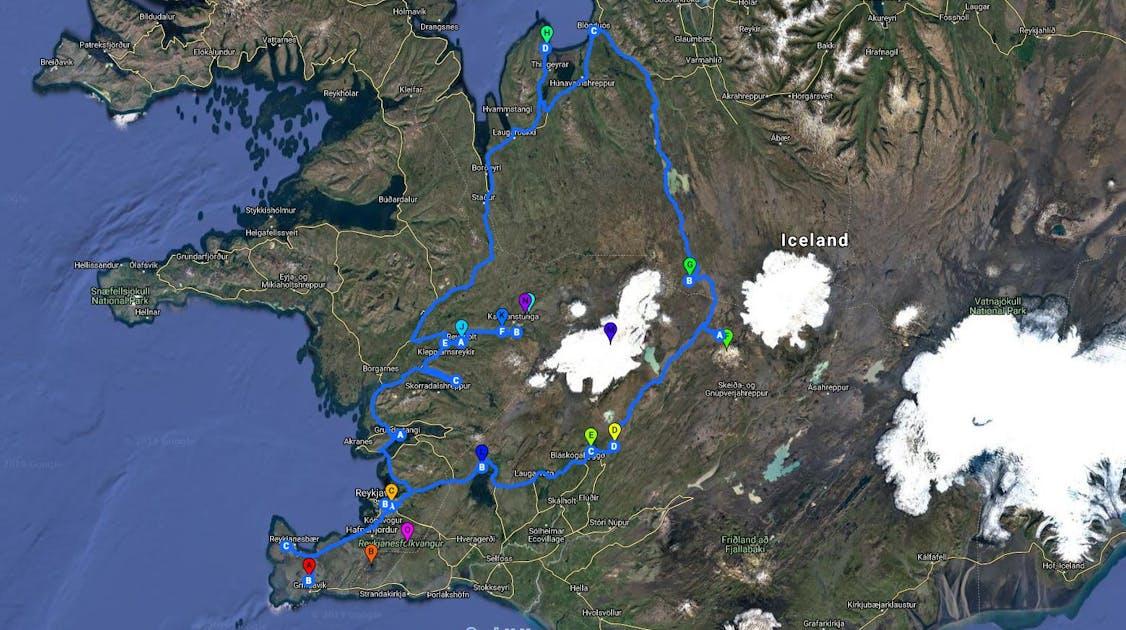 6 Day Camping Self Drive | Kjolur 4x4 Highland Roads | Geothermal Bathing
