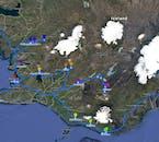 Plan 10-dniowej wycieczki po Islandii zimą, wraz ze zwiedzaniem interioru i jaskiń lodowych.
