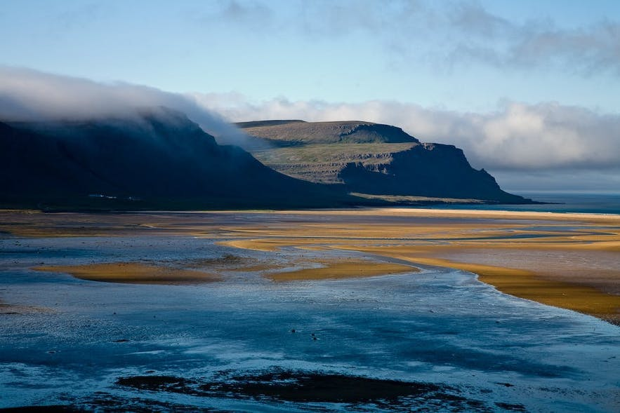 The red beach in the Westfjords is much more beautify when you see it in person