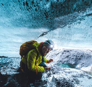 Южное побережье и ледниковая пещера Катла