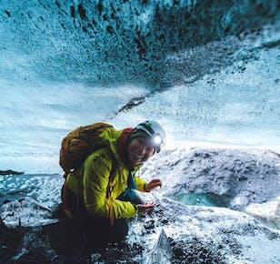 Tour a la Costa Sur y la cueva de hielo en Katla