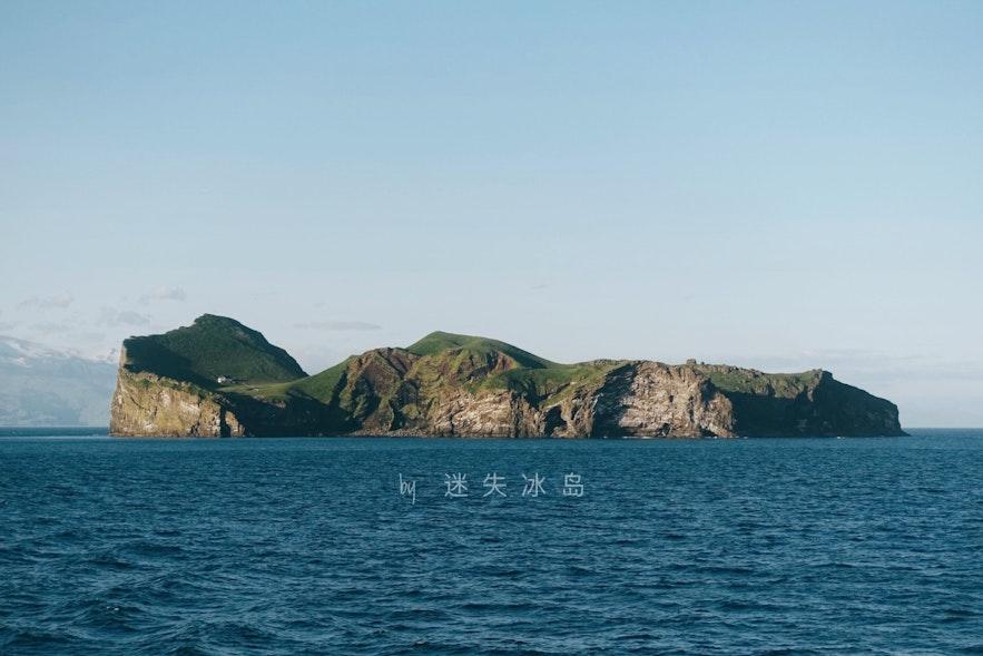 西人群岛的一座孤独的小岛