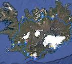 Plan 8-dniowej wycieczki po Islandii latem, w towarzystwie lokalnego przewodnika.