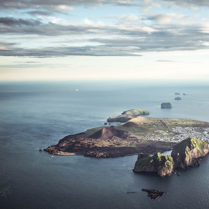 Guided 12.5 Hour Tour of the Volcanic Westman Islands with Transfer from Reykjavik