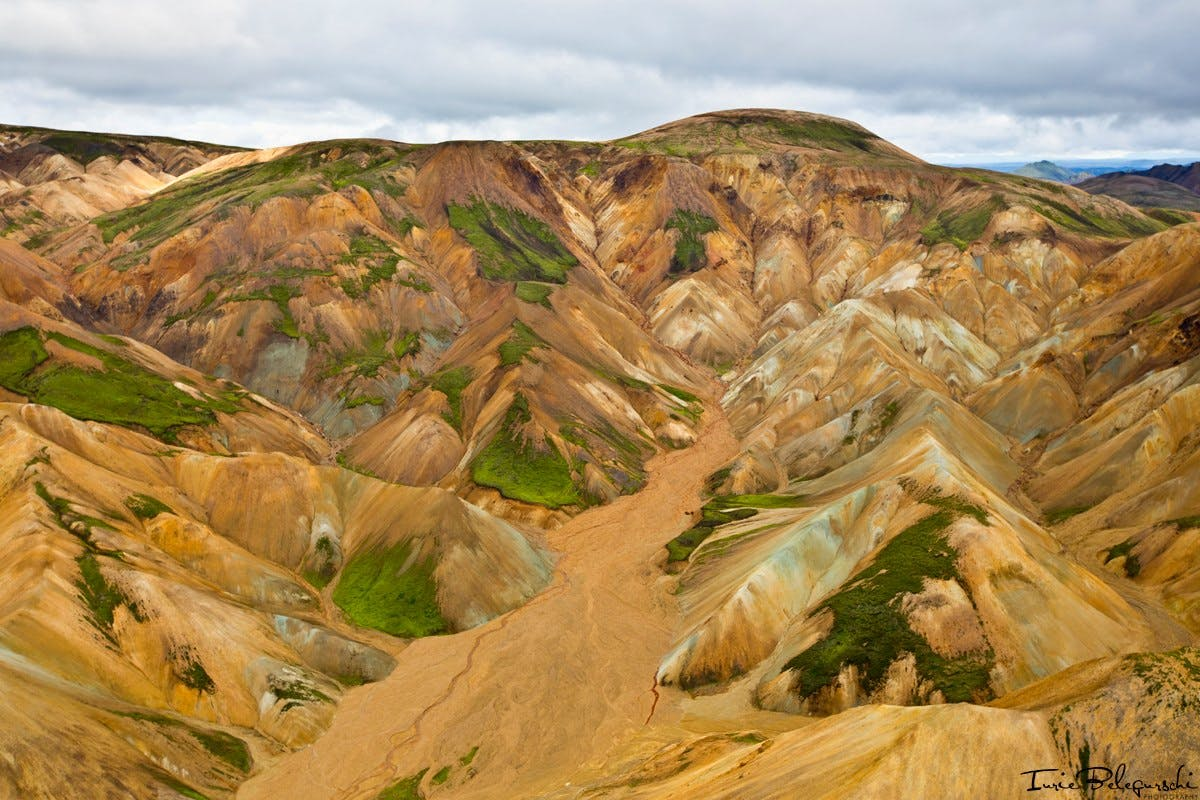 Landmannalaugar mountains in Iceland