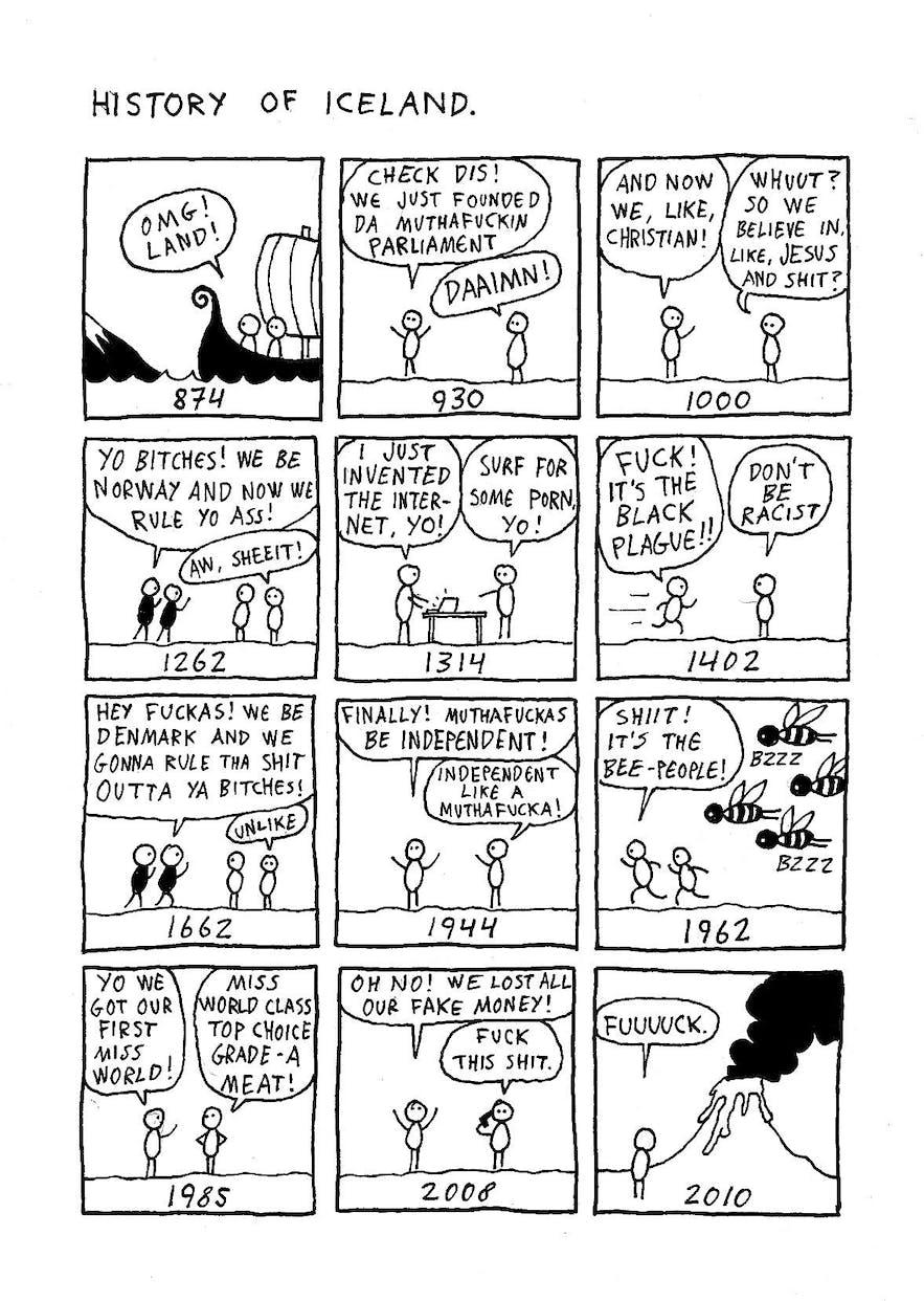 History of Iceland by Hugleikur Dagsson
