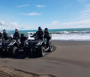Black Beach ATV Tour From Reykjavík