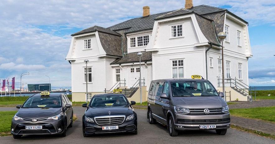 レイキャビクに二つあるタクシー会社のうちの一つ、Hreyfill社は1947年創立。
