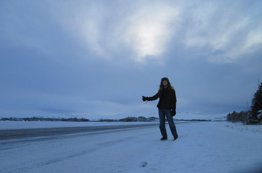 Hitchhiking is still considered safe in Iceland, but the weather can present other dangers.
