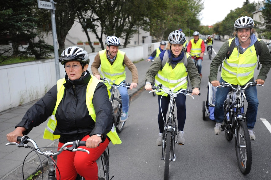 There are a number of bike tours around Iceland, the Reykjavík bike tour is a great way to see the city for people of all riding levels.