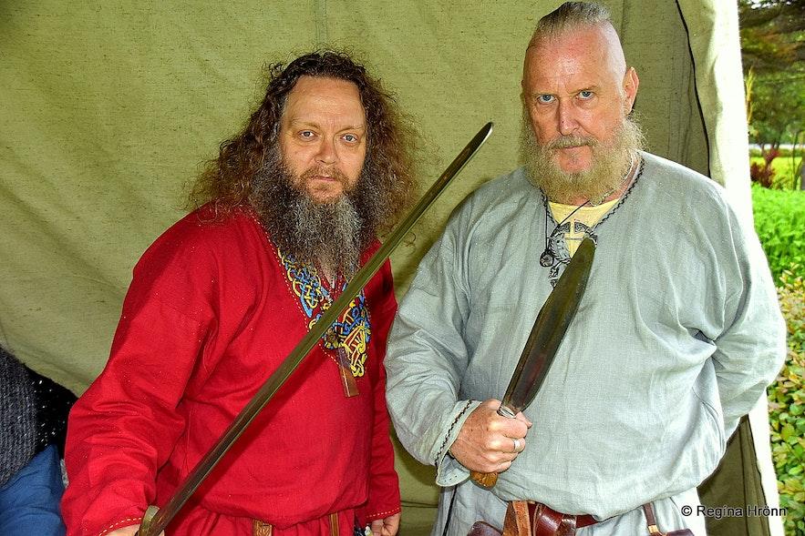 Vikings at the Viking club Einherjar in Reykjavík