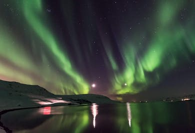 South-coast, Glacier walk and a hunt for the Northern lights