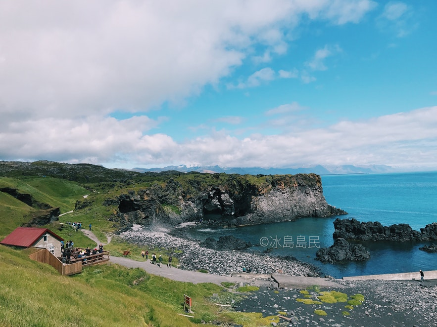 冰島斯奈山半島Hellnar海德納爾小鎮