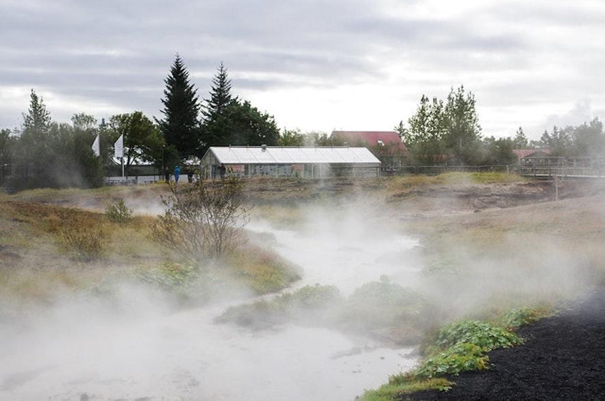 冰島溫泉鎮