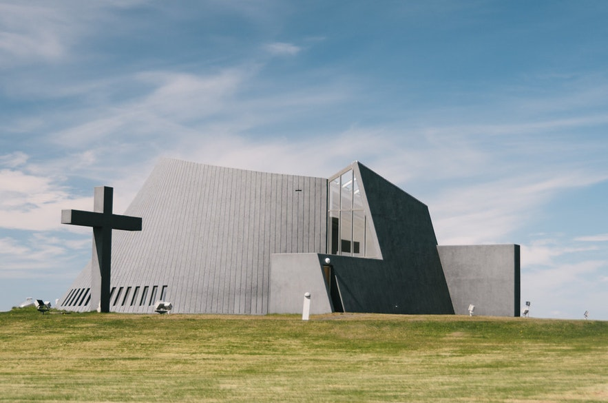 冰島Blonduos鯨魚教堂