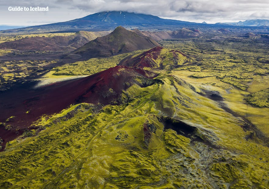 Some of the terrain in popular hunting areas in Iceland can be challenging.