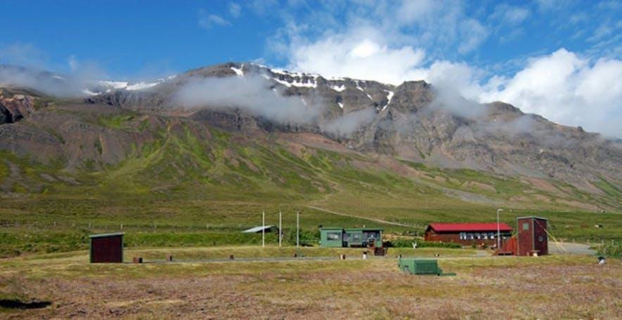 A rifle range outside Reykjavík