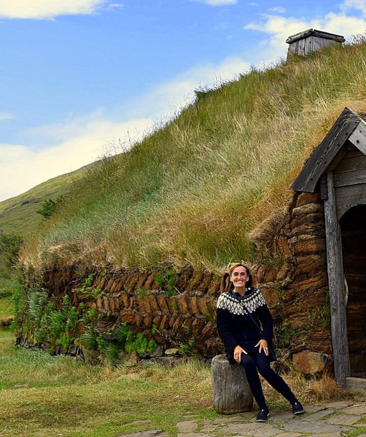 Eiríksstaðir hypothesis Viking longhouse