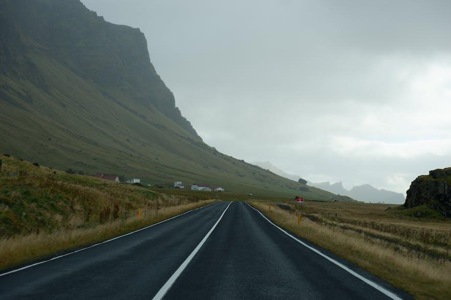 남부해안 1번도로를 따라, 아이슬란드