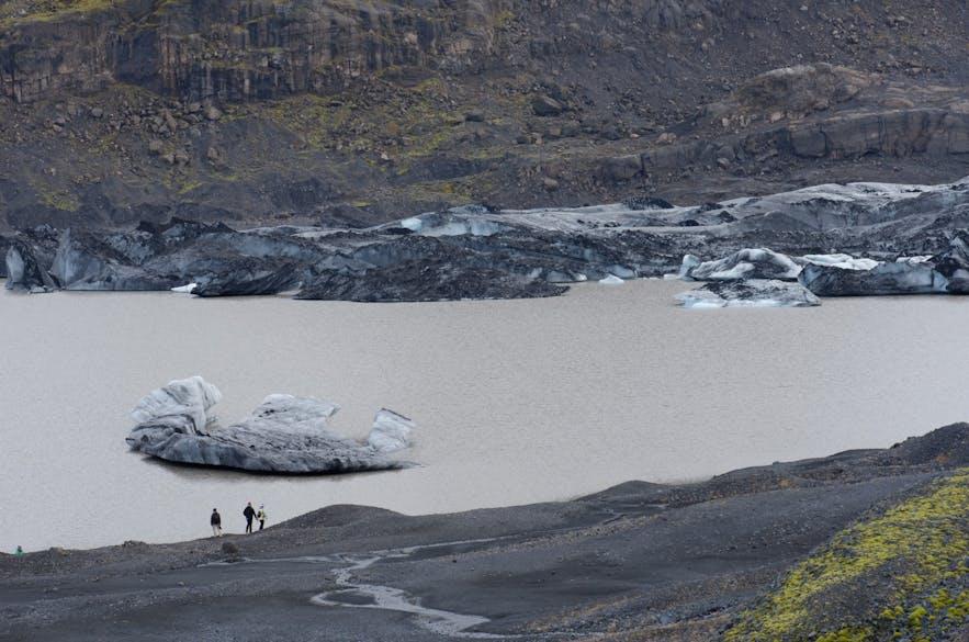 빙하로 가는 길