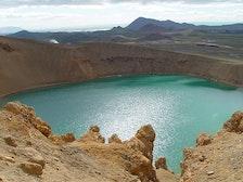 克拉夫拉火山口湖