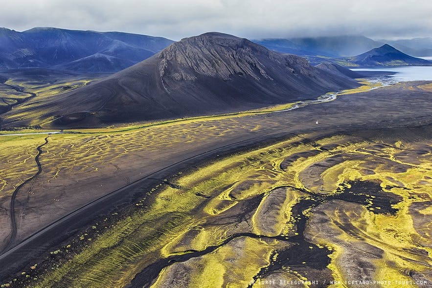 The gorgeous interior of Iceland's central highlands.