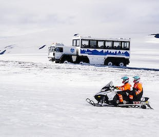 Into the Glacier   Ice Tunnels and Snowmobiling on Langjokull Glacier