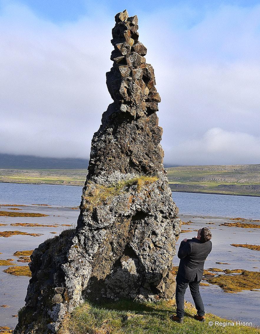 The Westfjord Trolls in the Westfjords
