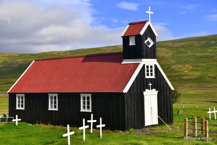 Staðarkirkja church in the Westfjords