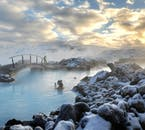 The Blue Lagoon Spa is one of the most visited sites in Iceland. It is known for it's beauty and the healing qualities of its waters.