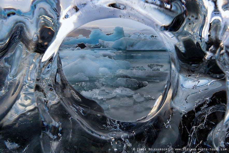冰岛瓦特纳冰川杰古沙龙冰河湖