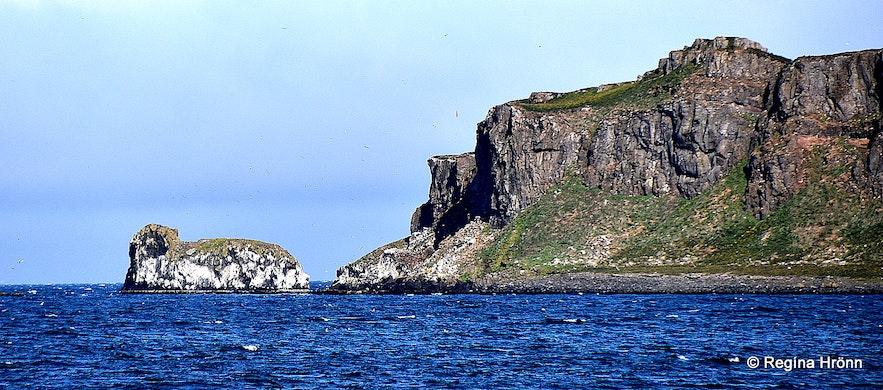 Grímsey island in Steingrímsfjörður