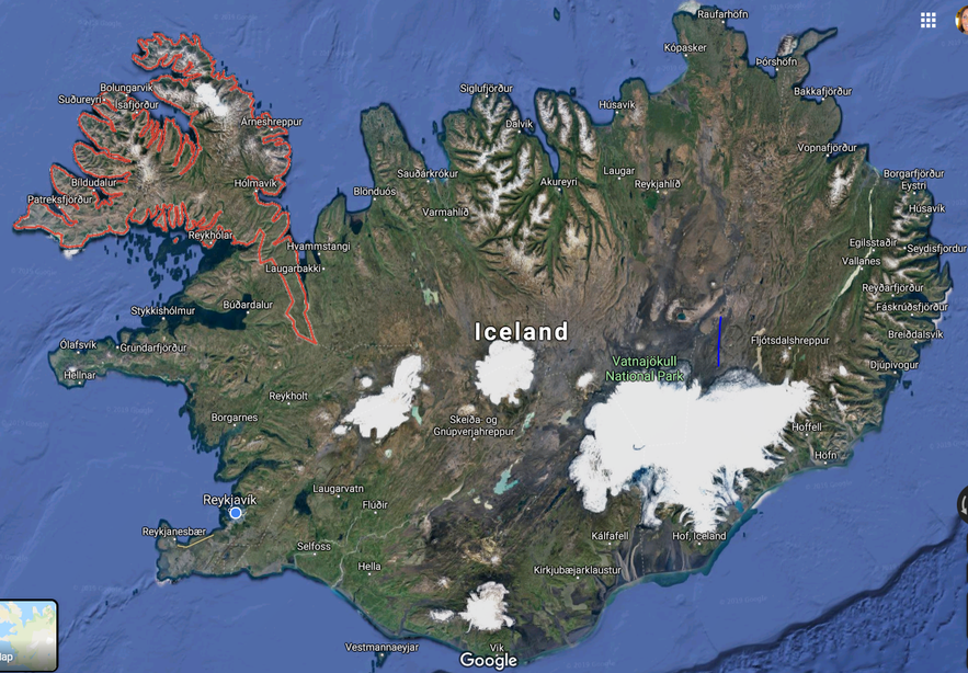 The 3 Trolls who wanted to separate the Westfjords Region from the Mainland of Iceland - Icelandic Folklore - Vestfjarðatröllin