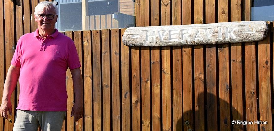 Gunnar the owner of Hveravík Strandir