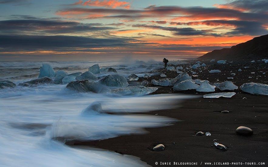 海边日落摄影