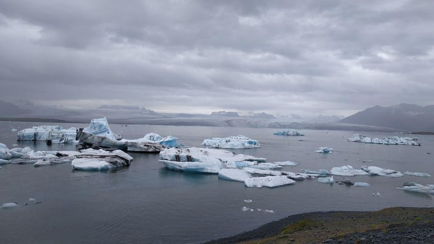 La laguna glaciar de Jökulsárlón