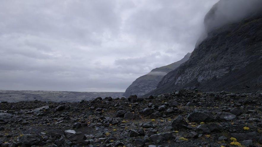 De camino a Breiðamerkurjökull