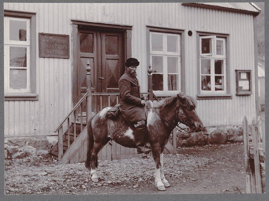 Picture in Reykjavík, 19th century by Frederik W.W. Howell