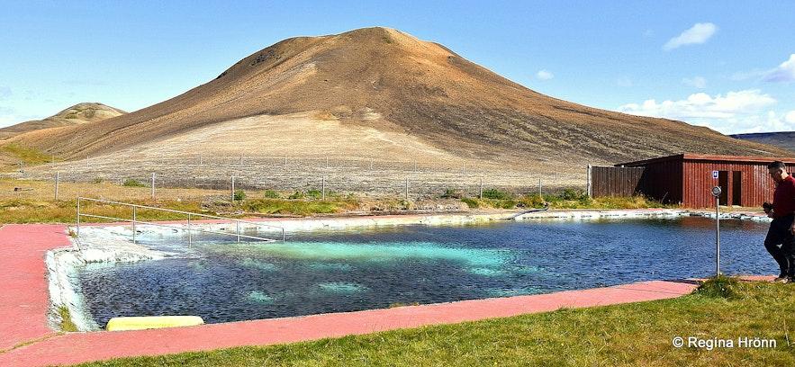 Þjórsárlaug geothermal swimming pool in Þjórsárdalur
