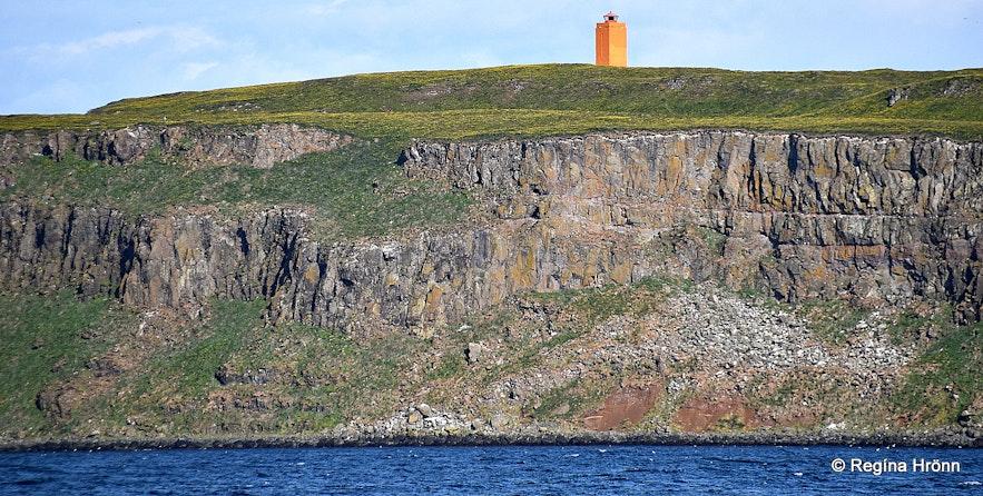 Grímsey island on Steingrímsfjörður fjord