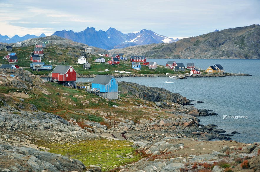从冰岛到格陵兰岛 | 飞往格陵兰东部库鲁苏克Kulusuk
