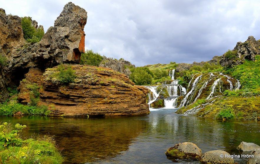 Rauðá river in the Highlands