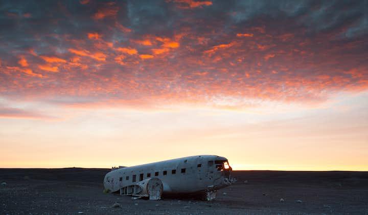 Transporte hacia el accidente del avión DC-3 en Sólheimasandur
