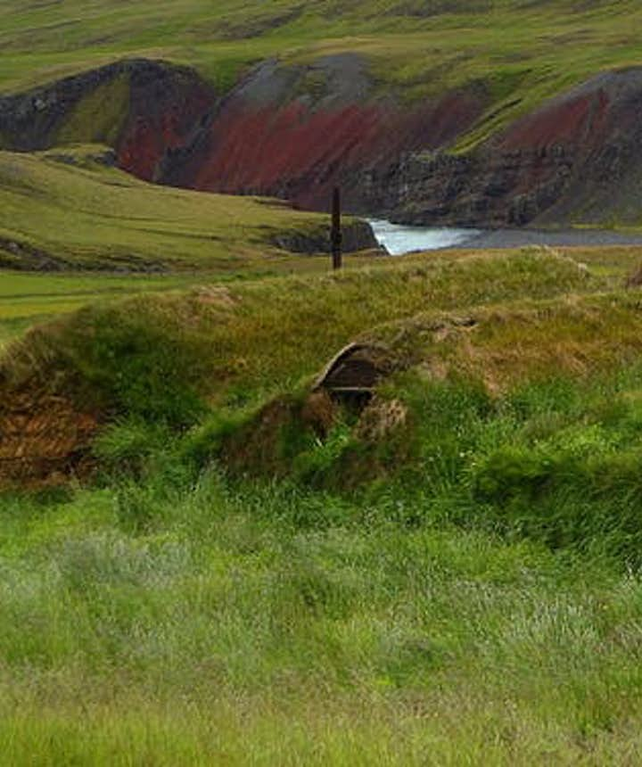 Tyrfingsstaðir is a privately owned turf farm in north Iceland.