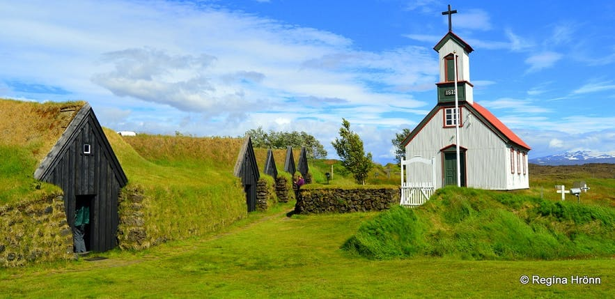 Turf houses were how people lived in Iceland for a millennium.