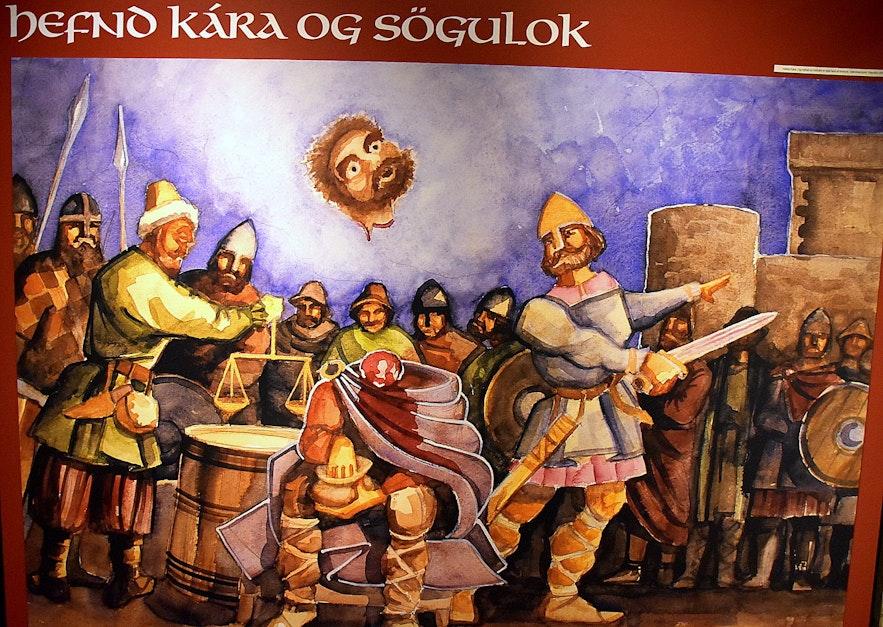The Saga Centre in South-Iceland - An Exhibition on the Saga of Njáll