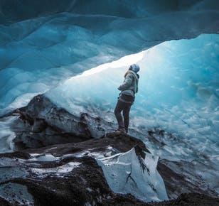 Solheimajokull Blue Ice Cave and Glacier Hike